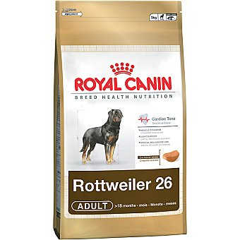Royal Canin alimento completo especial para perros de raza rottweilwer desde los 18 meses Adult bolsa 12 kg