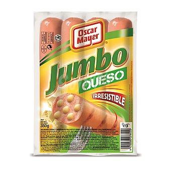 OSCAR MAYER Salchicha Jumbo de queso sobre 350 g