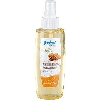 Lixone Aceite corporal de almendras dulces nutritivo e hidratante piel seca y delicada Frasco 150 ml