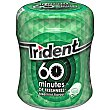 Chicles hierbabuena 60 minutes Bote 80 g Trident