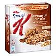 Barritas chocolate con leche Caja 6 u x 21,5 g (129 g) Special K Kellogg's