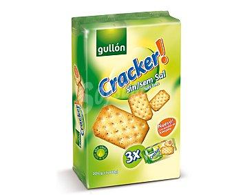 Gullón Creckers Sin Sal Pack 3 Unidades de 100 Gramos