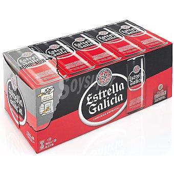 Estrella Galicia Cerveza especial Pack 10x33 cl
