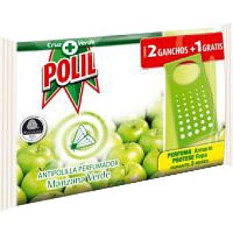 Polil Raid Antipolillas manzana verde Pack 2 unid