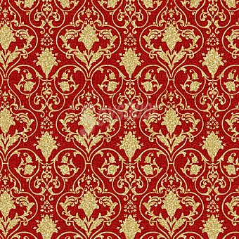 PAP STAR servilletas Noble Ornament color rojo 40X40 cm  paquete 20 unidades