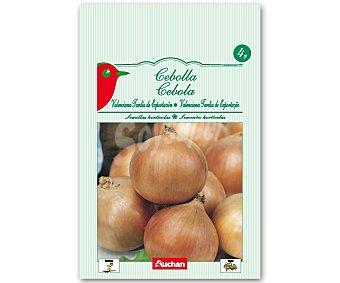 """Auchan Semillas para sembrar Cebollas Valencianas de la variedad """"Recas"""" 4 Gramos"""