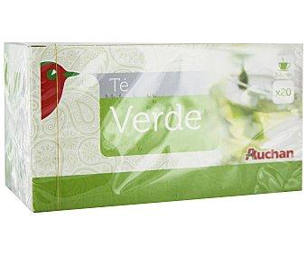 Auchan Té verde 20 unidades