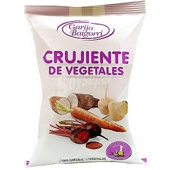 GARIJO BAIGORRI Crujientes de vegetales con aceite de oliva Bolsa 50 g
