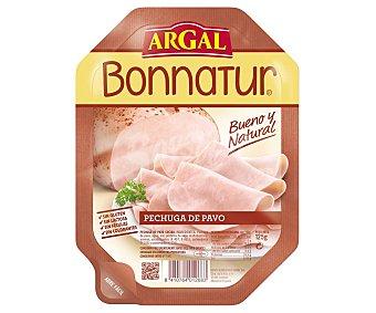 Bonnatur Argal Pechuga de pavo cocida y cortada en lonchas 125 g