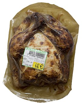 PLATOS TRADICIONALES Comida preparada pollo asado entero u - 1 kg