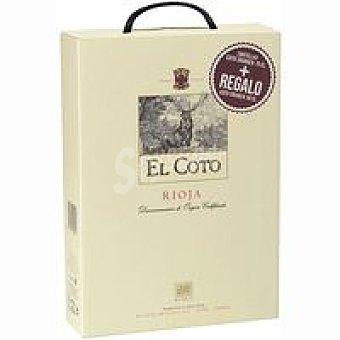 El Coto Vino Rioja Crianza Estuche 2x0,75 cl + 50 cl Regalo