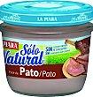 Paté de pato  Tarro 100 g La Piara Sólo Natural