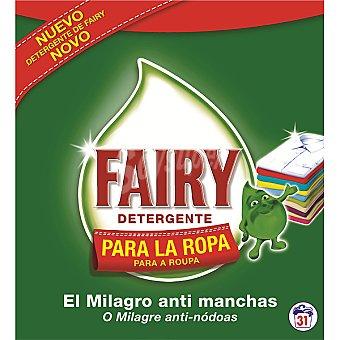 Fairy Detergente en polvo Maleta 31 cacitos