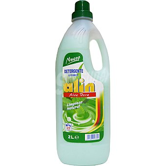 Alin Detergente máquina líquido Aloe Vera Botella 2 l