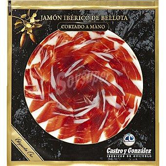Aurelio castro y gonzalez jamón ibérico de bellota cortado a mano bolsa 100 g