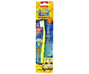 BOB ESPONJA Cepillo dental , a partir 2 Años 1 Unidad