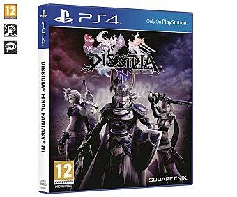 Square Enix Videojuego Dissidia Final Fantasy NT para playstation 4. Género: Lucha, pegi: +12 Dissidia Final Fantasy NT PS4