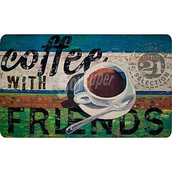 COCINA Alfombra para Estar Coffee Friends 45X75