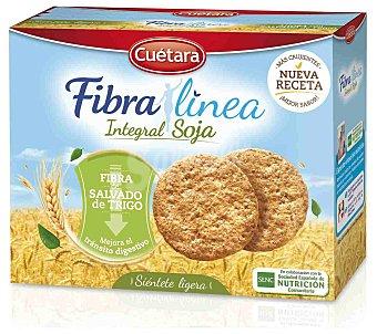 Cuétara Galletas fibra integral con soja 600 g