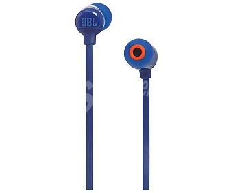 JBL Auriculares Bluetooth azul, con micrófono T110BT