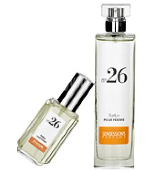 Sensessions Parfums Estuche Perfume para mujer Nº 26 spray 100ml + colonia mini spray 30ml. 1 ud