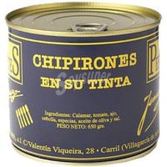 LOS PEPERETES Chipirón en su Tinta Bote 650g