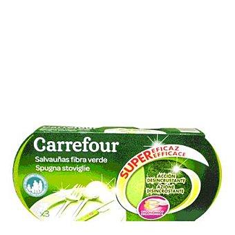 Carrefour Salvauñas verde 3 ud