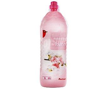 Auchan Suavizante concentrado frescor talco 2 litros