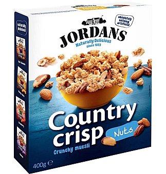 JORDANS Country Crisp Cereales de desayuno con frutos secos Envase 400 g