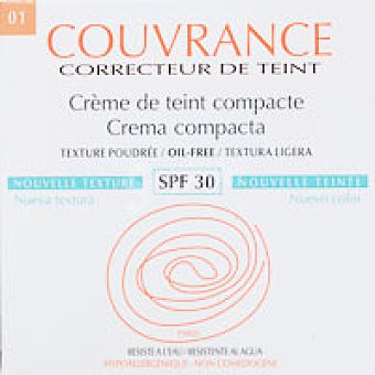 COUVRANCE Avene maquillaje compacto porcelana 9,5 g