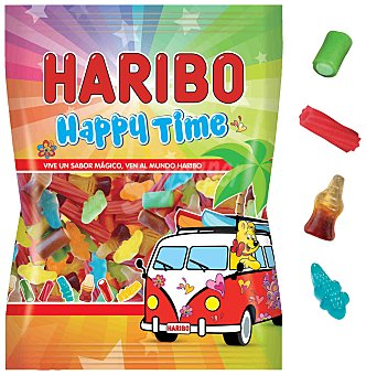 Haribo Gominolas happy time 135 grs