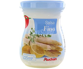 Auchan Salsa fina frasco de 225 milils