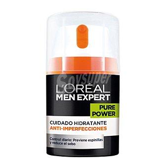 Men Expert L'Oréal Paris Cuidado hidratante anti-imperfecciones Pure Power 150 ml