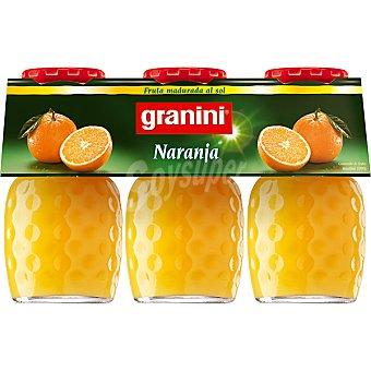 Granini Néctar de naranja Pack 3 botellas 20 cl