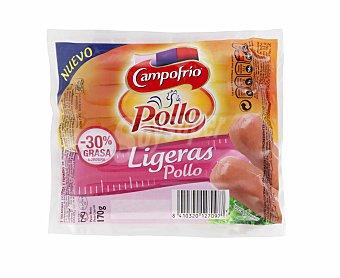 Campofrío Salchicha de pollo ligera Sobre 170 g