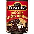 frijoles negros refritos lata 580 g La Costeña
