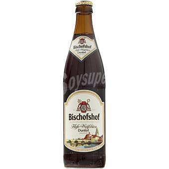 BISCHOFSHOF Hefe-Weissbier Dunkel Cerveza negra de trigo alemana botella 50 cl