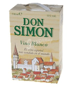 Don Simón Vino blanco bag in box 3 l