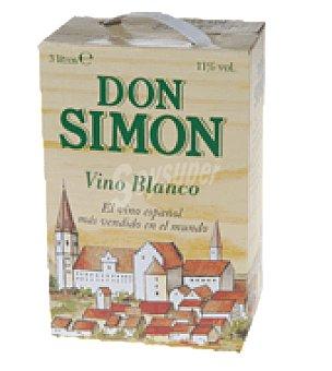 Don Simón Vino blanco bag in box 3 l