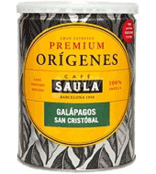 Saula Café molido premium origenes galapagos saula lata 250 grs 250 g