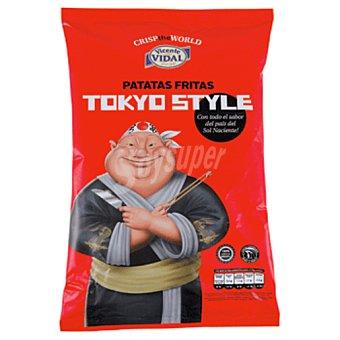 VIDAL patatas fritas crisp world tokyo bolsa 120 gr
