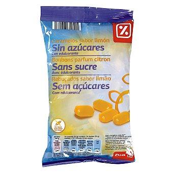DIA Caramelos sin azúcar limón Bolsa 200 gr