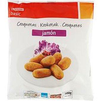 Eroski Basic Croquetas de jamón Bolsa 500 g