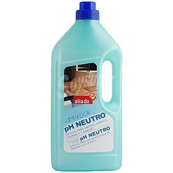 Aliada Limpiador pH neutro especial madera mármol cerámica y granito Botella 1,5 l
