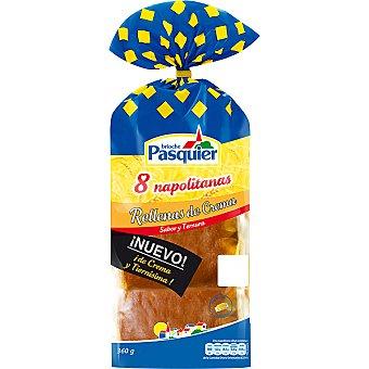 Pasquier Napolitana de crema 8 unid
