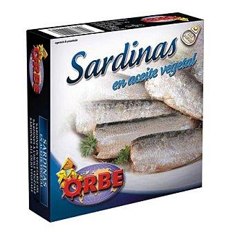 Orbe Sardinas en aceite vegetal 160 g