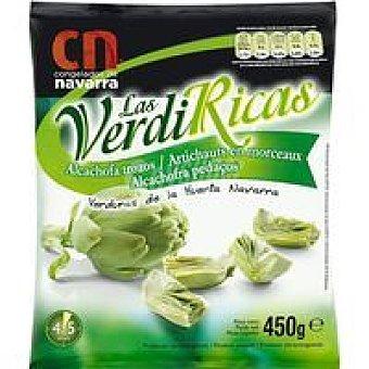 LAS VERDIRICAS Alcachofa trozos Bolsa 450 g