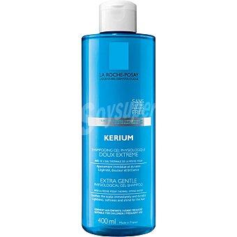 La Roche-Posay Kerium champu-gel fisiologico con agua termal suavidad extrema calmante y antipicor Frasco 400 ml
