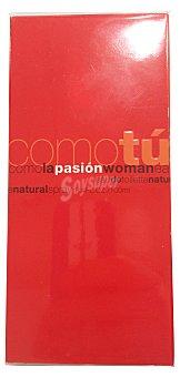 Como tu Eau toilette mujer pasión (botella blanca tapón rojo) Botella de 100 cc