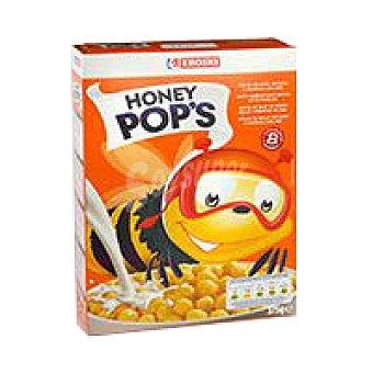 Eroski Honey Pops de maíz miel Caja 375 g